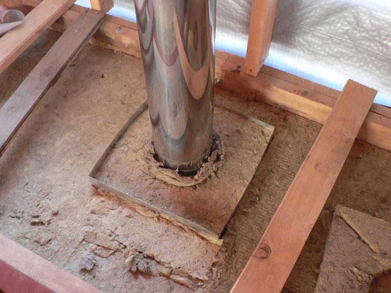 Как сделать песочницу для дымохода в бани и из чего
