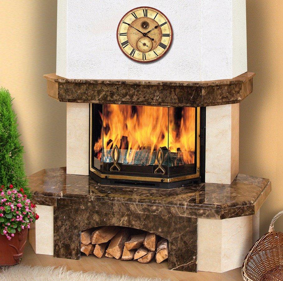 Облицовка камина в москве дымоход для дизельной горелки
