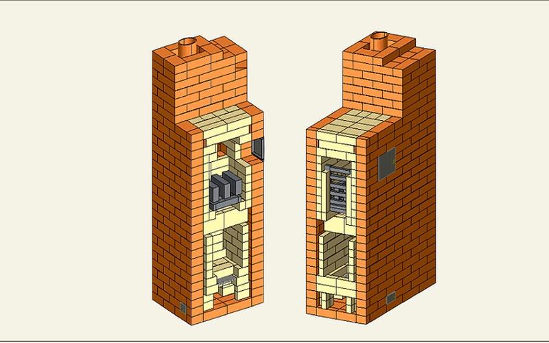 Модернизация классической печи заключается в обустройстве глухого пода рабочего пространства каменки, подачи пламенного потока в пространство, расположенное под сводом