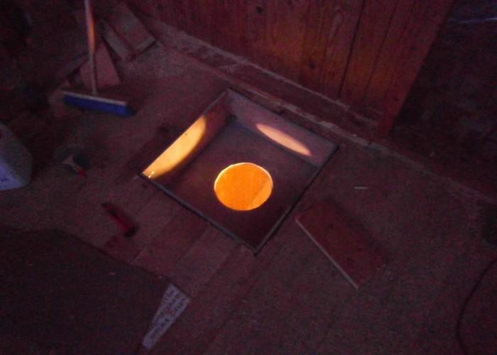 Установка печи камина на даче