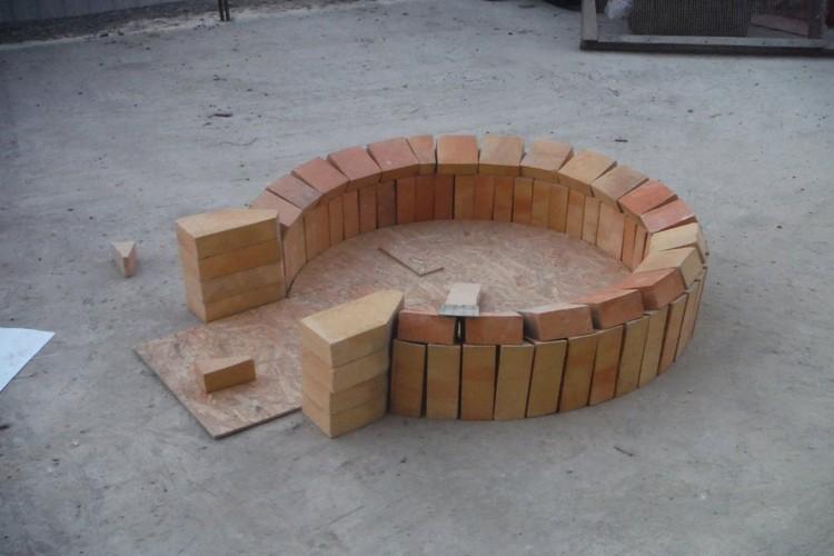 В результате печка была построена самостоятельно, причем опыт был первым.